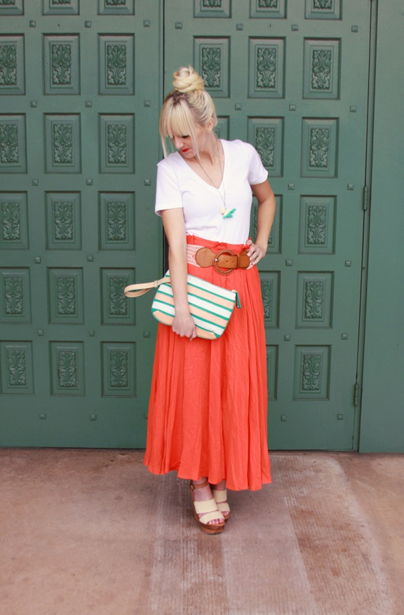 Coral and turquoise are a match-made in heaven. #KelliMurray #Rockstar