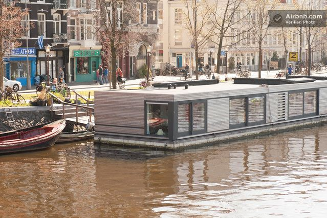 amsterdam houseboat centre airbnb