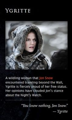 game of thrones ygritte killer