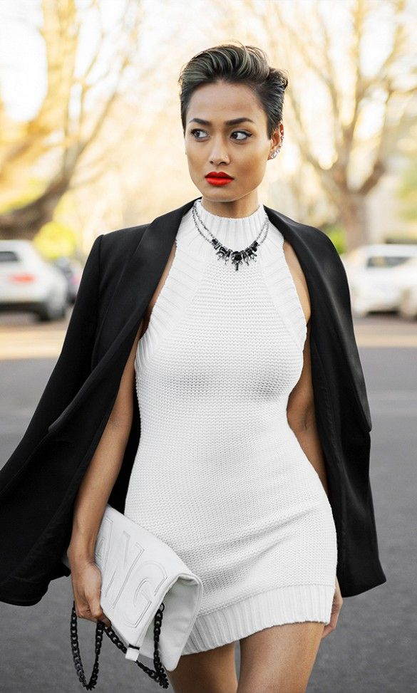 two words. white hot  || The 9 Best Outfits We've Seen In A LONG Time via @WhoWhatWear