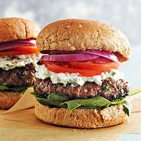 Greek Feta Burgers | Recipes I Want to Try | Pinterest