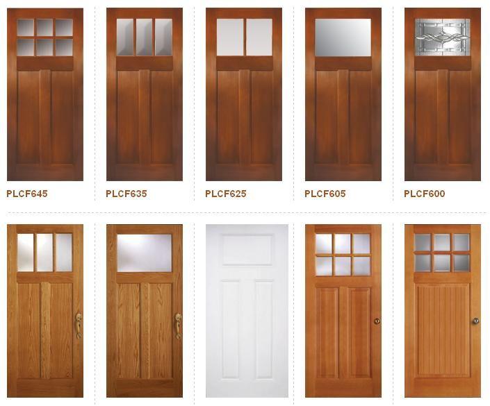 Craftsman Style Doors Craftsman Exterior Pinterest