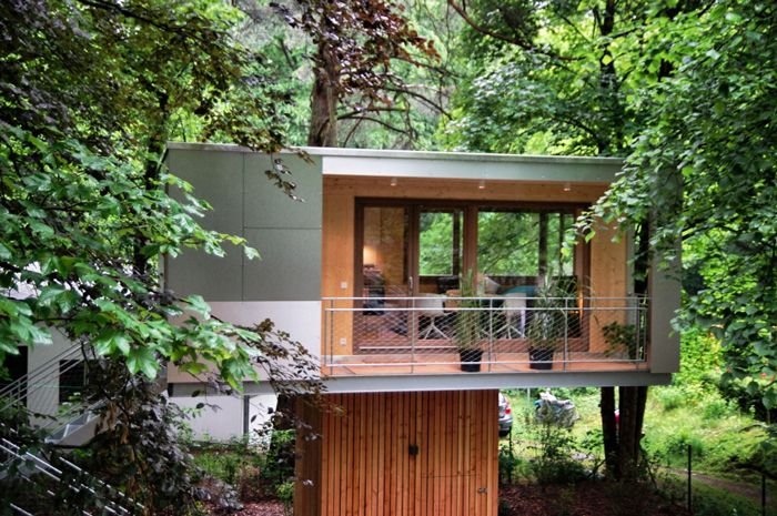 wolfcenter baumhaus. Black Bedroom Furniture Sets. Home Design Ideas
