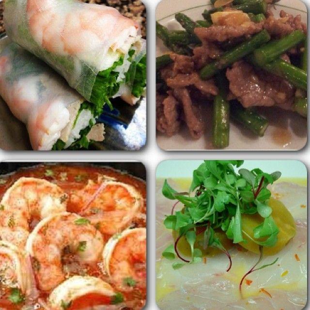 ... spring roll thai 2- lomo salteado con vegetales 3-c… | Pinterest