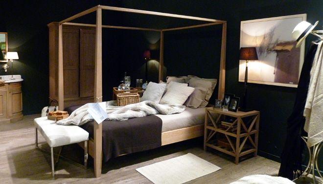 flamant-slaapkamer-cottage-stijl  Bedrooms  Pinterest