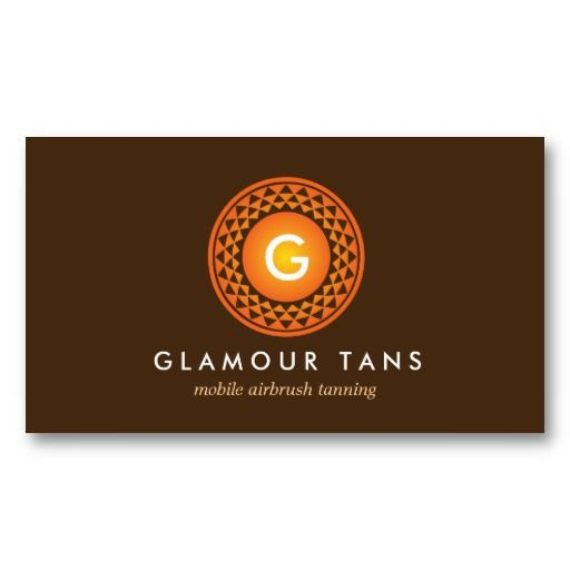 ... Business Card and Sun Logo for Airbrush Tanning / Spray Tan Business