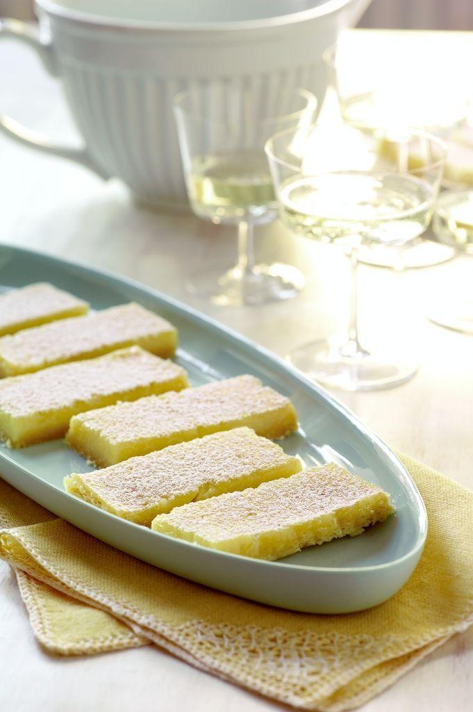 Low Calorie Lemon Bars from Recipe Rehab Cookbook (Slash the Fat, Not ...