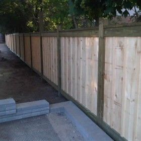 Two toned paint wood 10 partitions privacy fences pinterest