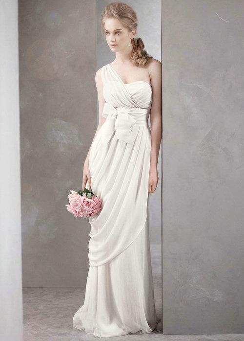 Greek goddess wedding dress vera wang over the for Greek goddess wedding dresses