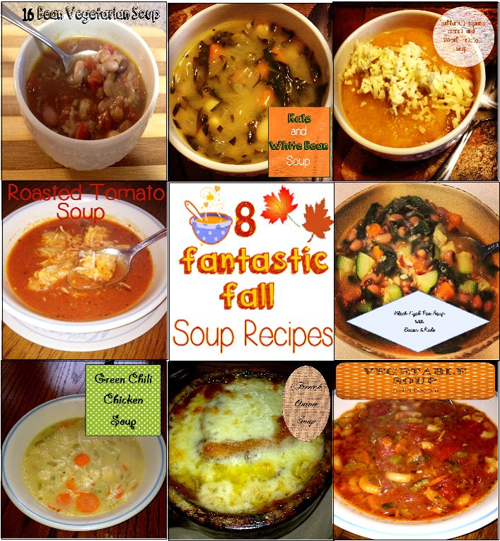 and sweet potato soup - 16 bean vegetable soup - white bean and kale ...