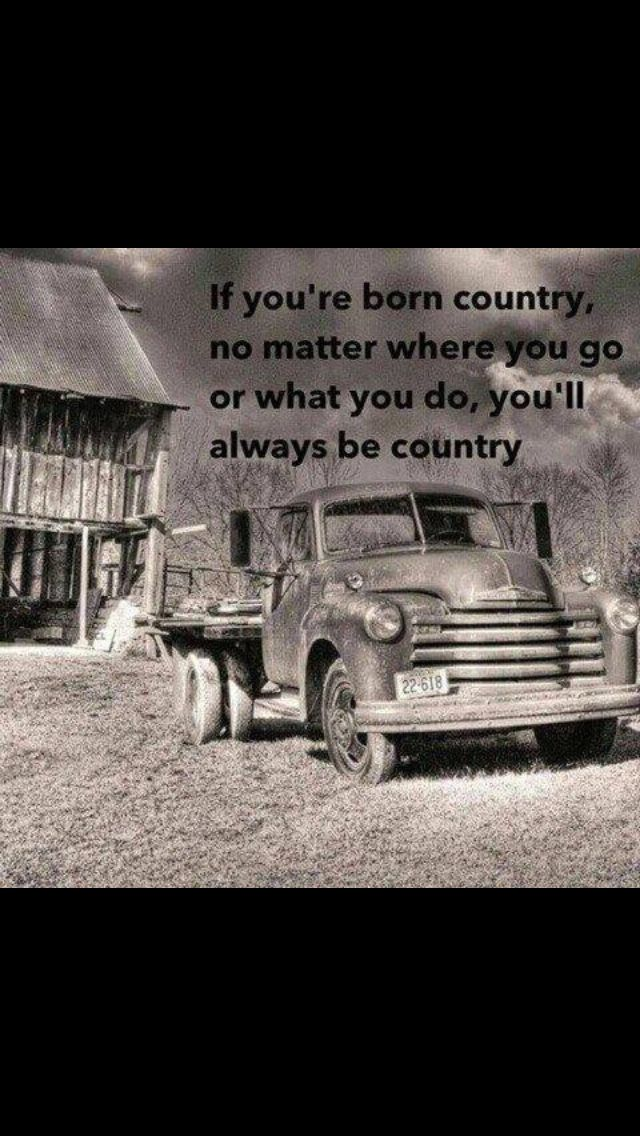 Simple Country Quotes....