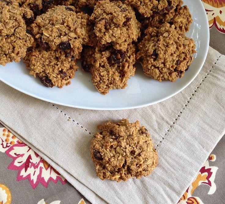 Oatmeal Raisin Cookies (vegan, gluten-free) | Recipe