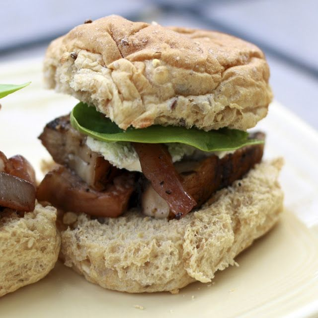 Portobello Mushroom And Goat Cheese Sandwiches Recipe ...