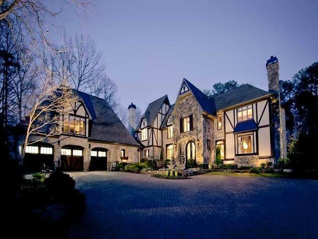 Tudor Manse Atlanta Georgia Dream Homes Pinterest