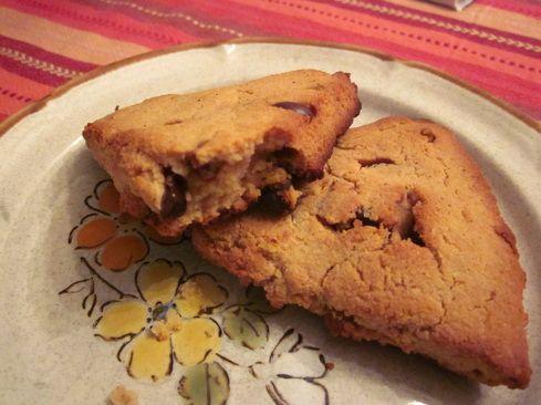 Paleo Cinnamon Chocolate Chip Scones | Recipes to Try | Pinterest