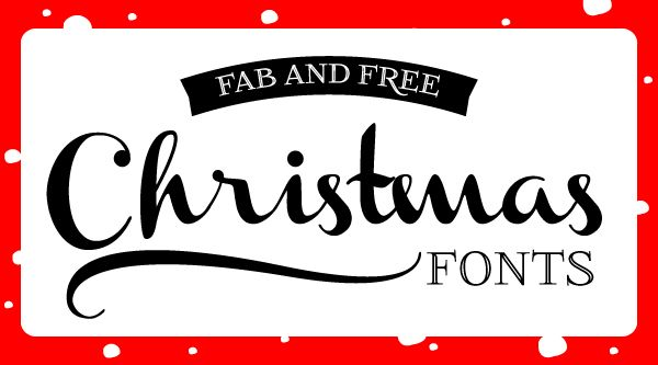 Roundup of free fonts for your Christmas design projects: http://bit.ly/va20Xa