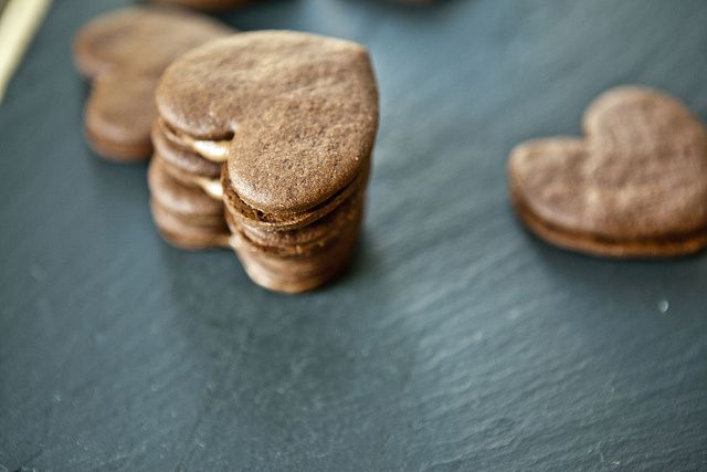 Chocolate Espresso Sandwich Cookies | Cookie Jar | Pinterest