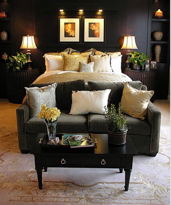 Warm And Cozy Bedroom Home Pinterest