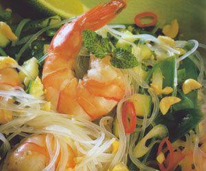 Thai Shrimp and Rice Noodle Salad Recipe | Om Nom Nom | Pinterest