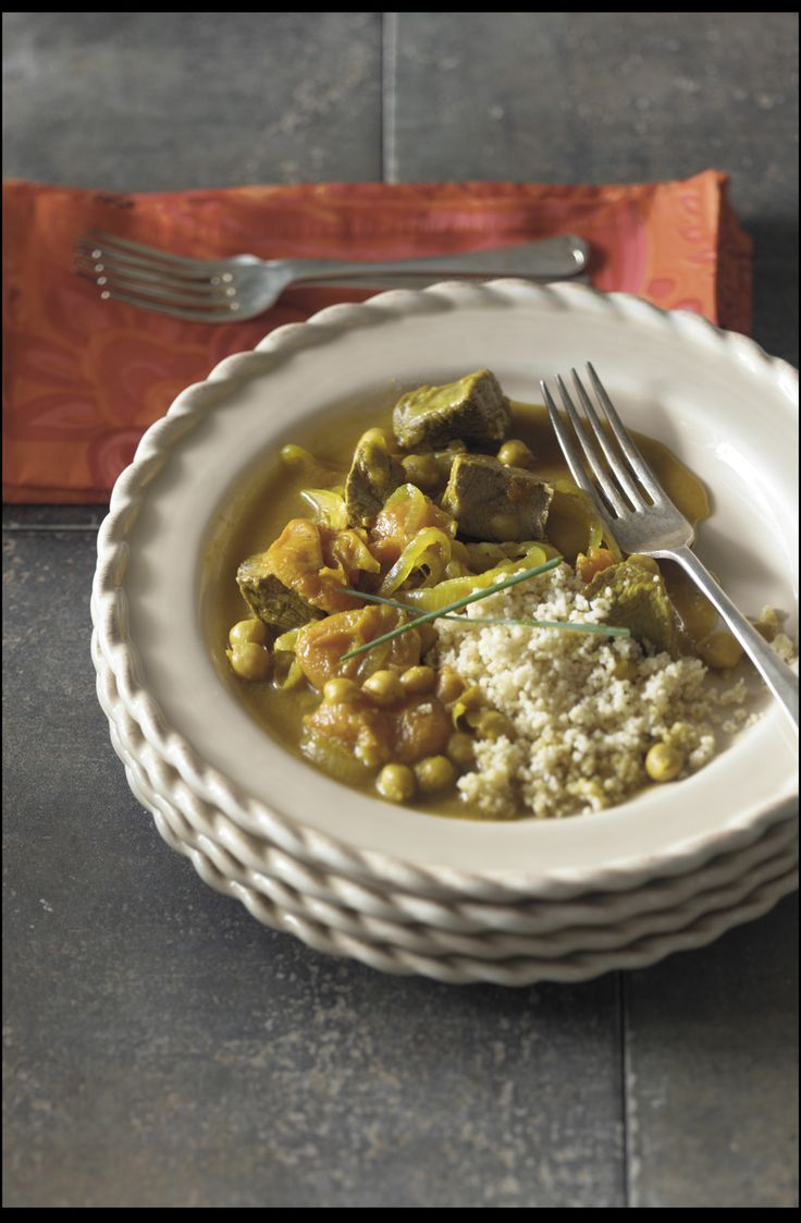 Apricot and Lamb Tagine features Middle Eastern flavors, ideal for an ...
