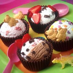 ice cream scoops for cupcakes
