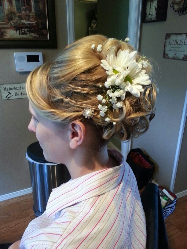 Bridal Hair, country wedding