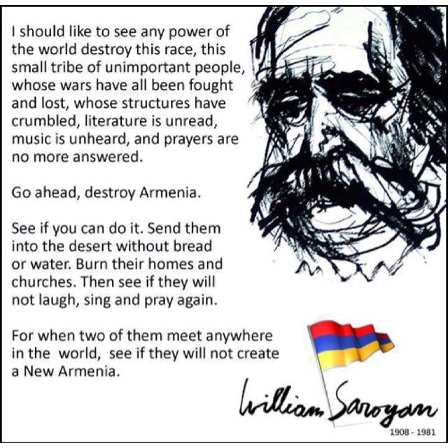 William Saroyan best poems