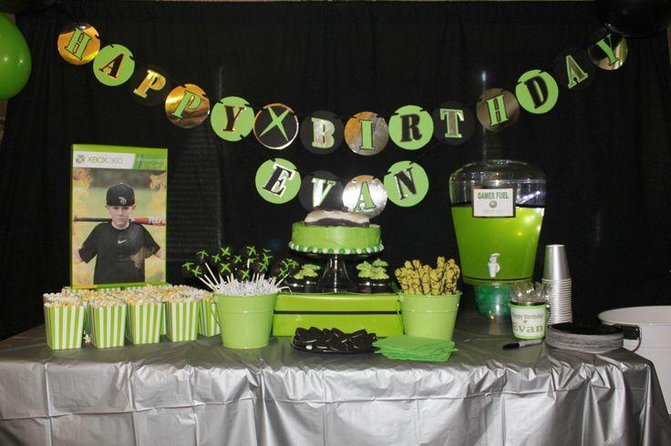 Birthday party ideas xbox