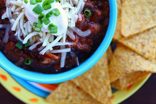 Vegetarian Black Bean Chili Opinion: YUM. Totally will make this again ...