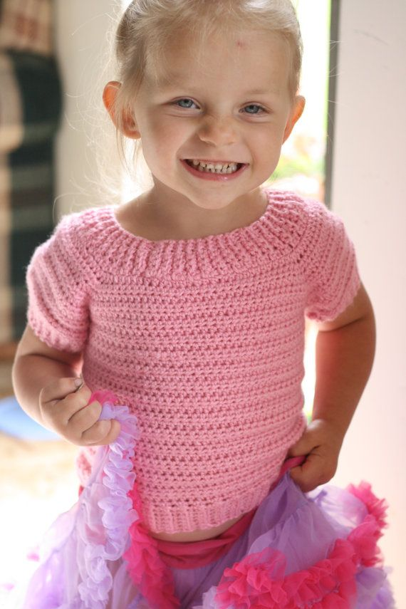 Download Now - CROCHET PATTERN Classic Childrens Sweater in 10 diffe ...