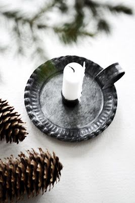 ♥ #Scandinavian #Christmas #decorating #ideas #white