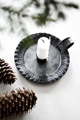 ♥ #Scandinavian #Christmas #decorating #ideas #white