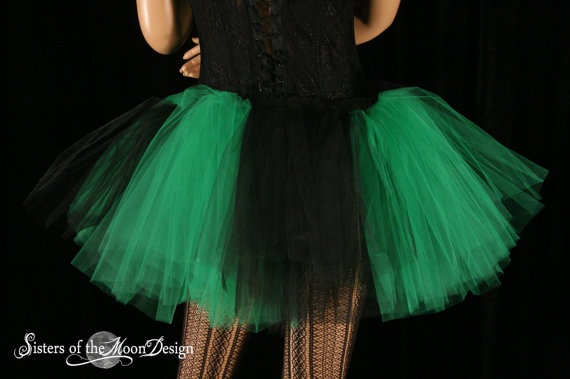 green and black tutu | Tutus and Glitter | Pinterest: pinterest.com/pin/253327547759588405