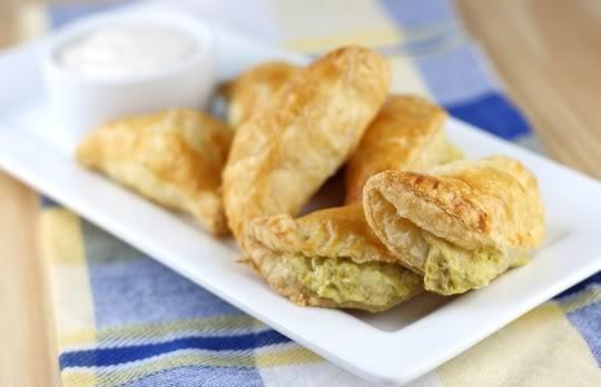 Artichoke-Parmesan Turnovers | Food | Pinterest