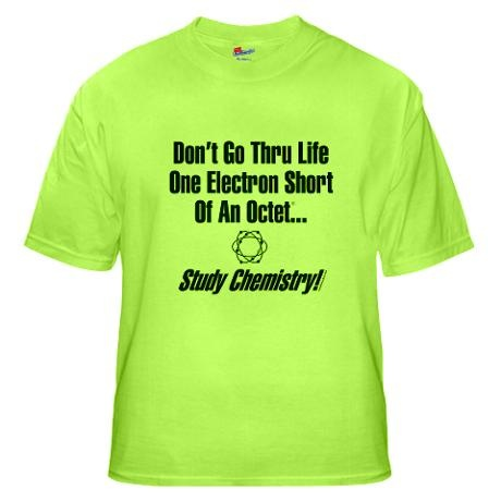 Ap Chemistry T Shirt Designs