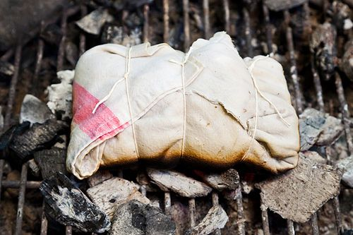 Steven Raichlen's Salt-Crusted Beef Tenderloin Grilled in Cloth (Lomo ...