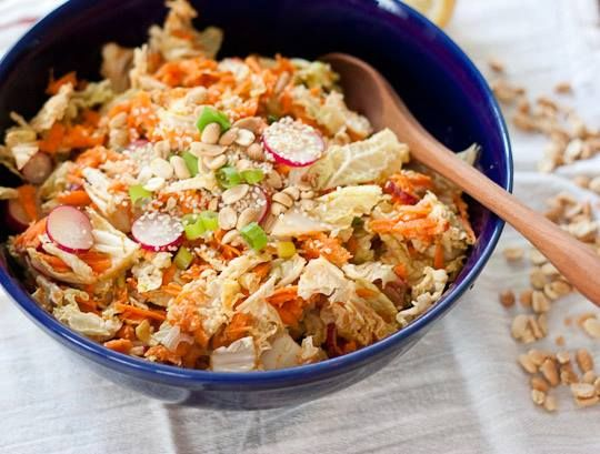 Peanut, Carrot, and Cabbage Slaw… | Recipes and Beautiful Food ...