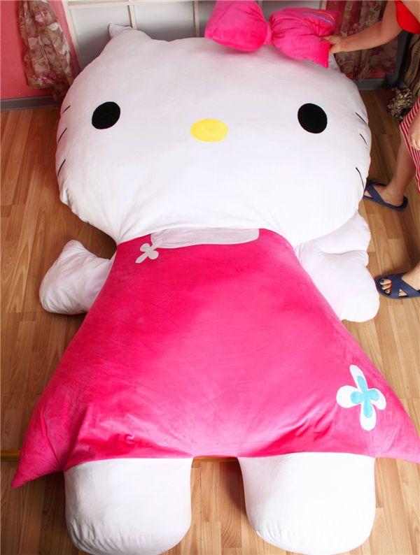 Hk hello kitty giant pillow bed hello kitty pinterest