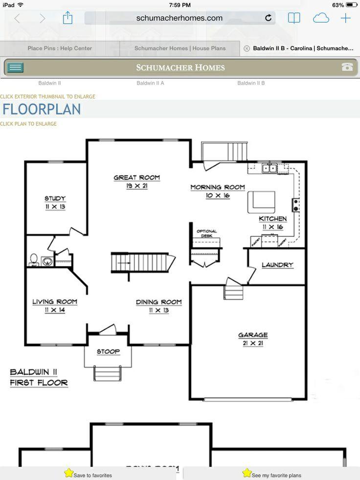 Floor plan schumacher homes pinterest for How to get a floor plan