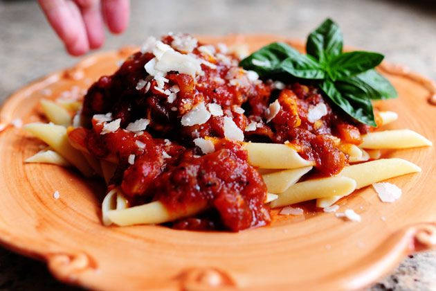 13 Penne With Chicken Thighs - Delicious and easy. Next time I ...