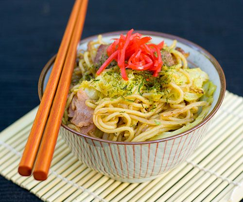 made using soba noodles made with buckwheat flour but noodles that are ...