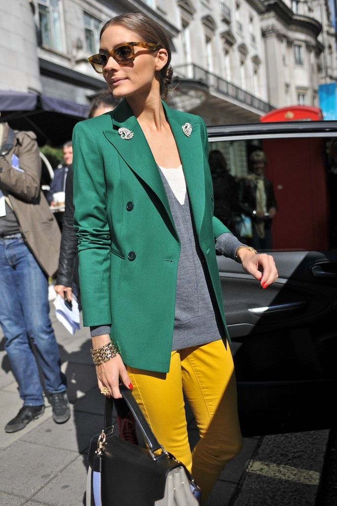 London Fashion Week #StreetStyle #Fashion #LFW #LondonFashionWeek #OliviaPalermo