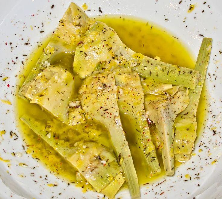 Lemon & Thyme Marinated Artichokes w/ Garlic Bread Crumbs & Toasted ...