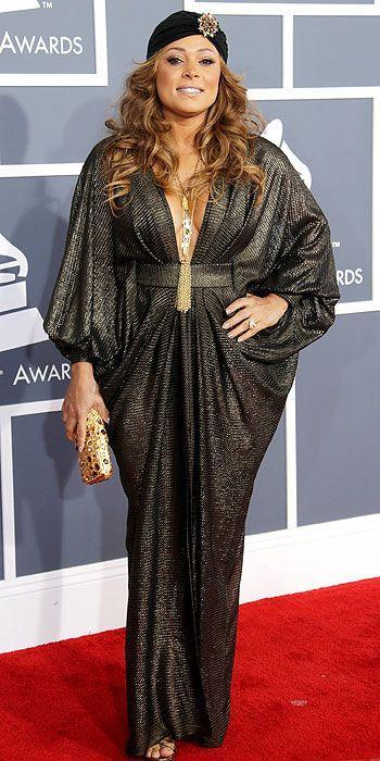 Tamia at the Grammy Awards 2013
