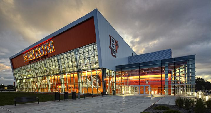 Stroh Convocation Center at Bowling Green State University in Ohio-My Hometown