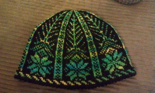 Snowflake Hat Pattern Knitting - Winter Pinterest