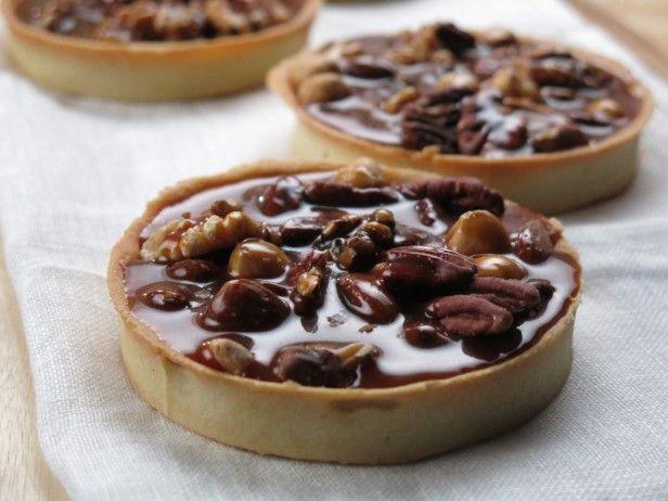 Salted Caramel Nut Tart : recipe by The Little Tart Bake Shop