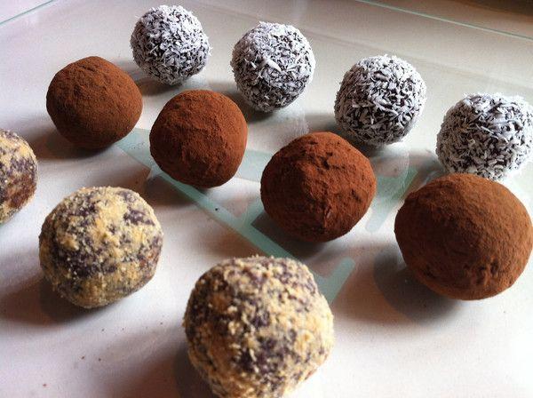 Vegan Chocolate Truffles   Hatchery   Cake pops & Truffles   Pinterest