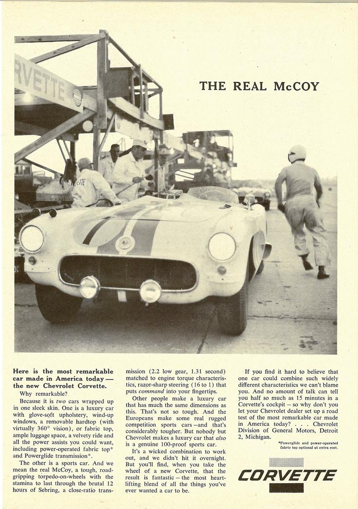 1956 Corvette - The Real McCoy