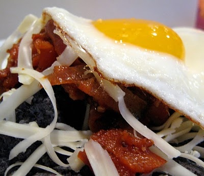 fried eggs real simple chilaquiles with fried eggs recipe fried eggs ...